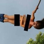 【タイ】17歳の美少女モデル(香港)が全裸でバンジージャンプ