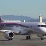 日本の最先端技術を結集したMRJの初飛行映像に世界が注目!