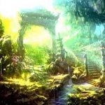 【癒し系】神秘の森と古代遺跡をひたすら歩く! 癒し効果抜群の音フェチ動画