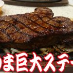 肉好き必見! 特大ステーキをうまそうに食べるだけの食レポ動画